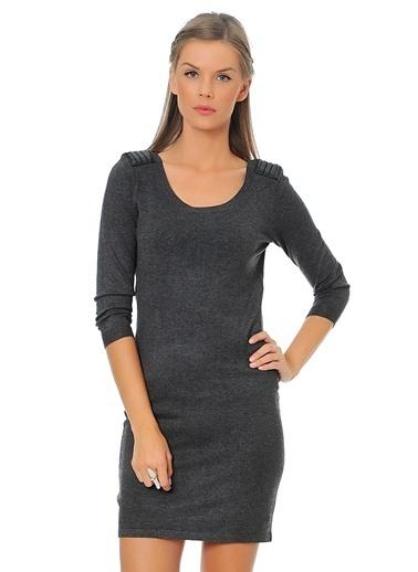 Vero Moda Vero Moda 10115659 Koyu Elbise Gri